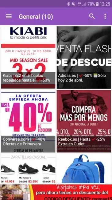 Rebajas App Android