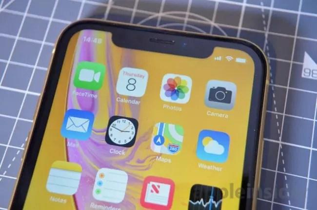 iphone-xr pantalla zoom