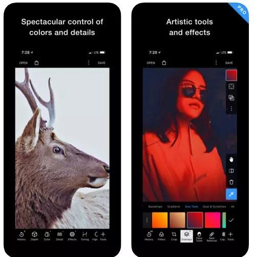 Polarr iphone