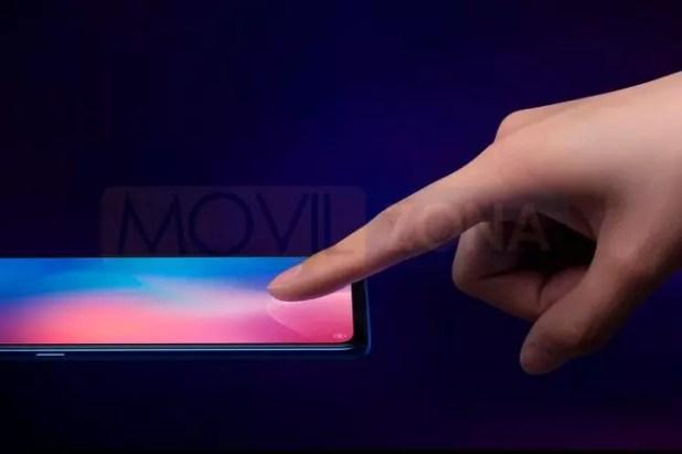 Xiaomi Mi 9 huella dactilar