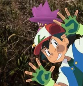 ash ketchum pokemon GO