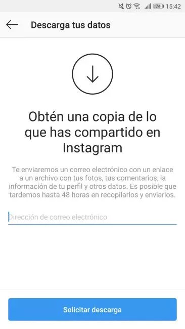 guardar fotos instagram