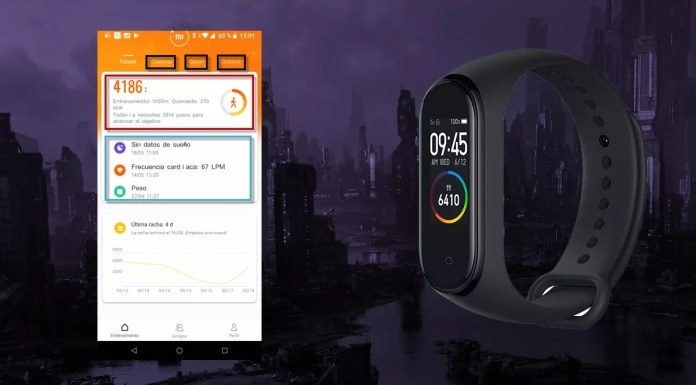 How to change the language of the Xiaomi Mi Band