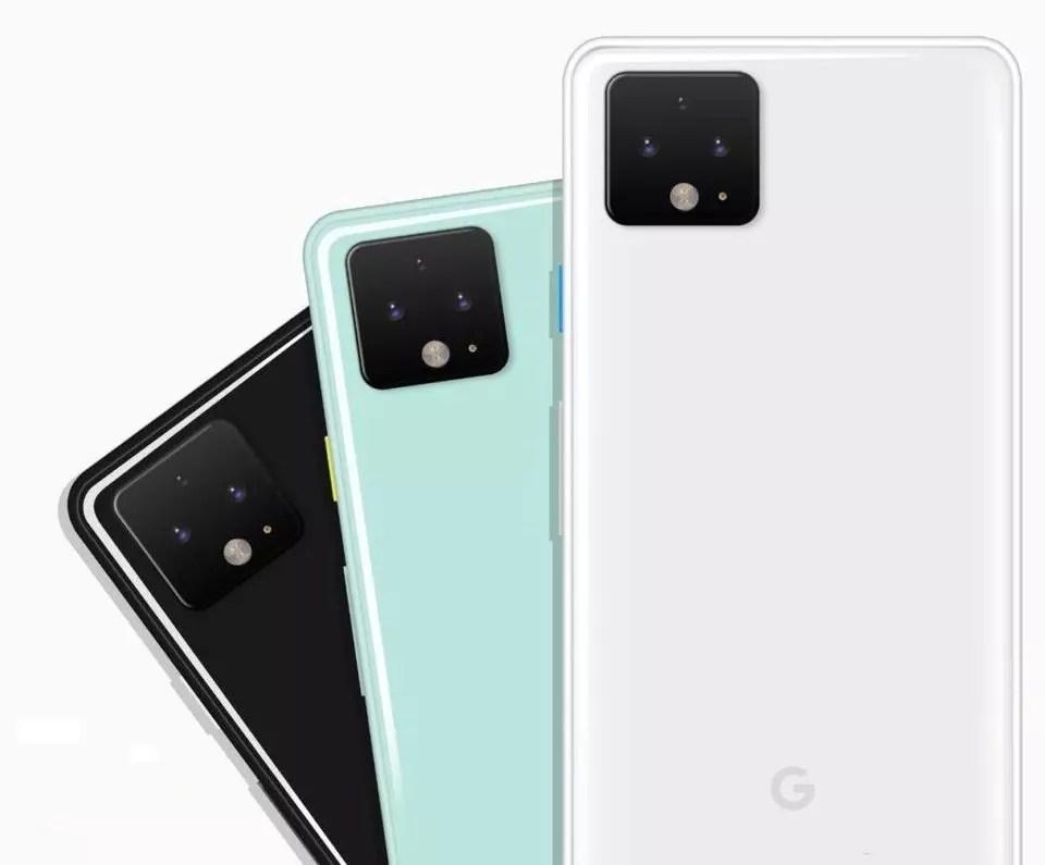 Google Pixel 4 colores
