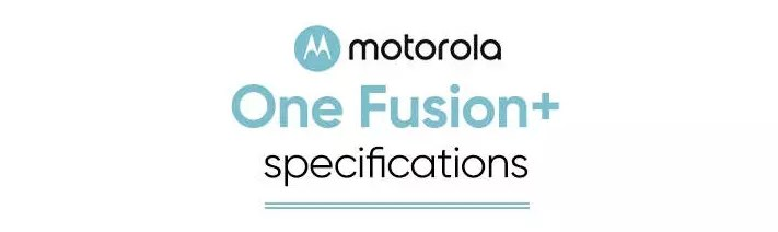Motorola One Fusion+cartel