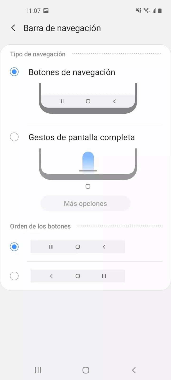 Análisis de la pantalla del Samsung Galaxy A21s