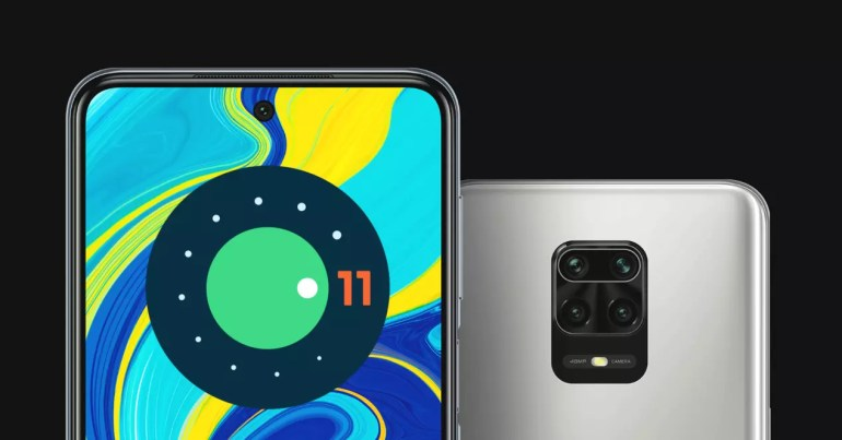 redmi note 9s y android 11