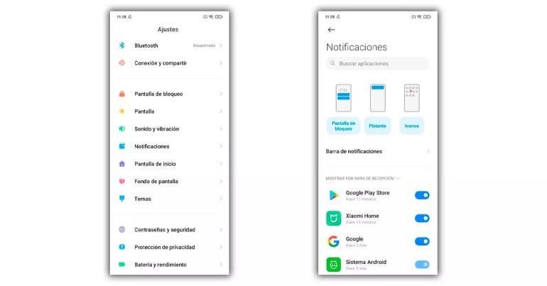 miui 12 notification settings