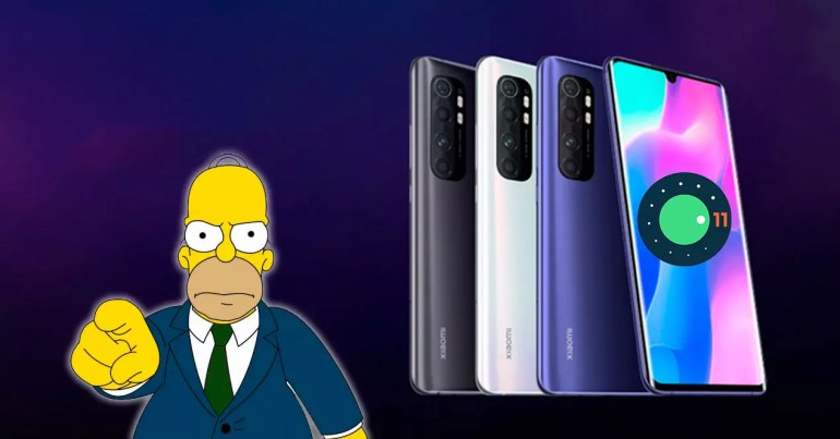 angry problem android 11 mi note 10 lite