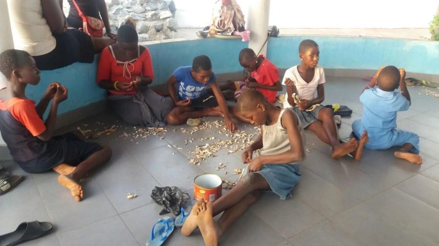 Les enfants de la plage - Togo