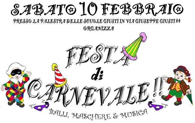 Carnevale a Ponsacco il 10 febbraio