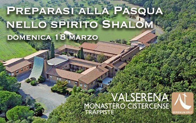 Ritiro spirituale per prepararsi alla Pasqua nello spirito Shalom