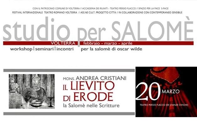 La Salomè delle Scritture – intervento di Don Andrea a Volterra il 20 marzo
