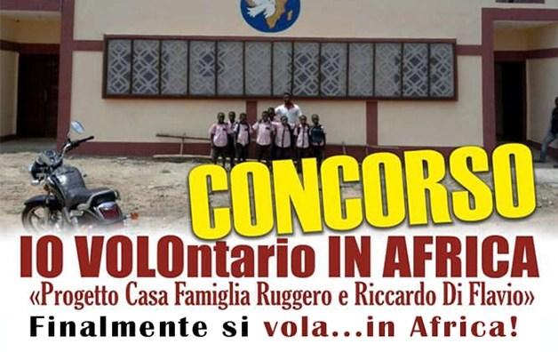 Premiazione del concorso IO VOLOntario IN AFRICA