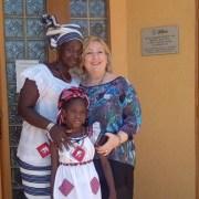 La vice ministra Emanuela Del Re in visita presso la sede del Movimento Shalom in Burkina Faso