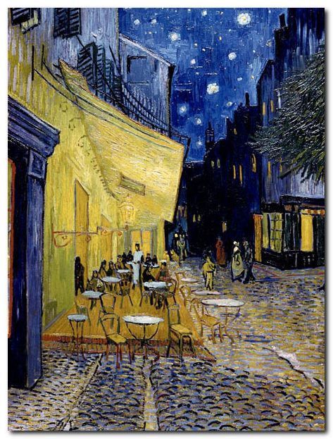 Quadro Vincent Van Gogh Terrazza del Caff Stampa su