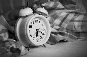An alarm clock