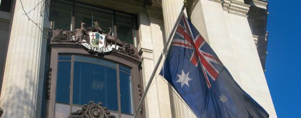 Australian in London