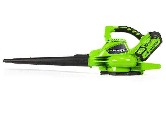 Battery Powered Leaf Vacuum