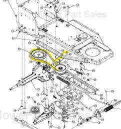 mtd variable speed pulley to the gearbox belt fits rh 115 76 603 754 04038 [ 1230 x 940 Pixel ]