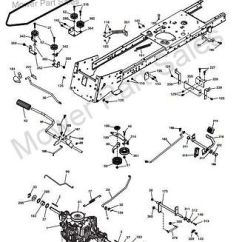 Husqvarna Chainsaw Fuel Line Diagram Visio Network Templates Free Transmission Drive Belt Fits Cth164, Cth184, Cth194, Cth224, Cth2642 T, Tre ...