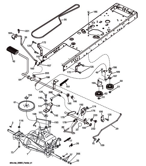 Wire Diagram For A 46 Cut Craftsman Lawnmower