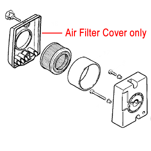 Stihl Air Filter Cover Backpack Blower 4203 140 1002