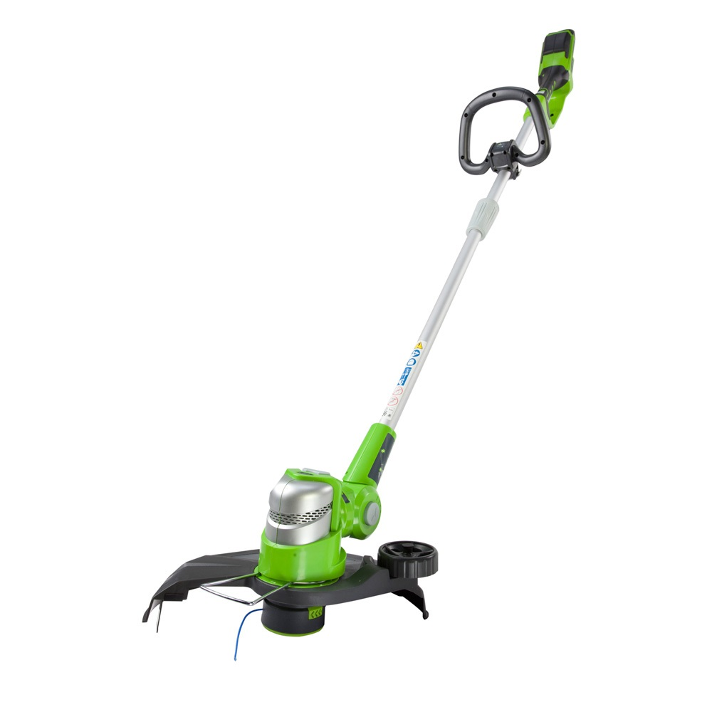 GreenWorks 24V Deluxe Cordless Grass Trimmer with 2Ah