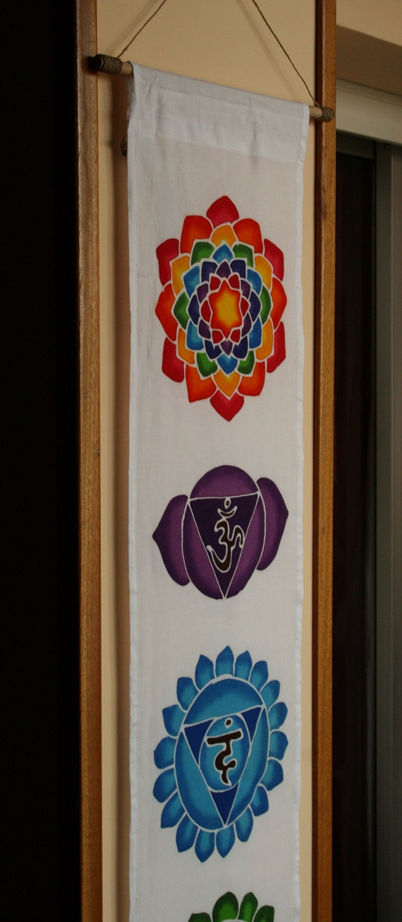 chakras pintado a mano