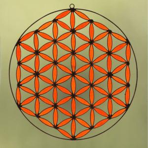 flor de la vida svadhistana naranja