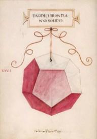 solidos platonicos dodecaedro leonardo da vinci