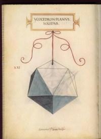 solidos platonicos icosaedro leonardo da vinci