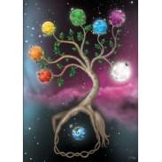 arbol de la vida y los chakras