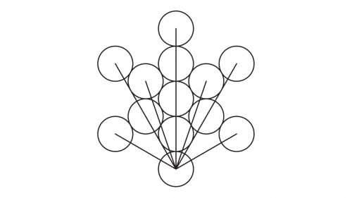 como dibujar el cubo de metatron