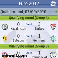 برنامج الدروي الاوروبي Euro 2012 لاجهزة نوكيا سمبيان3 ومافوق