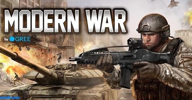 لعبة الحرب Modern War لاجهزة اندرويد