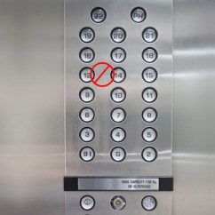 Wheelchair Elevator Body Solid Roman Chair Review The Rule Of 13: Why Isn't There A 13th Floor? | Mowrey