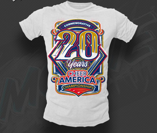 Custom Cheerleading Shirts Apparel