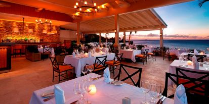 Cliff top dining room
