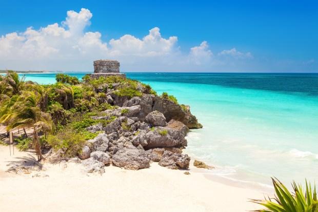 Mexico Caribbean Riviera Maya Tulum Beach