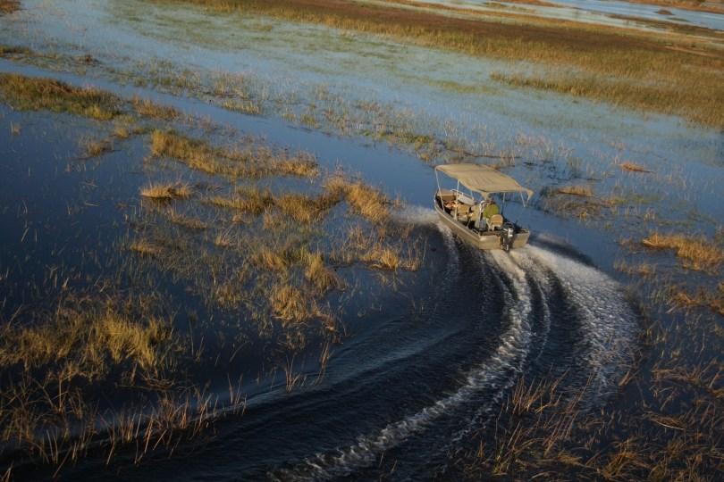 Botswana wetlands