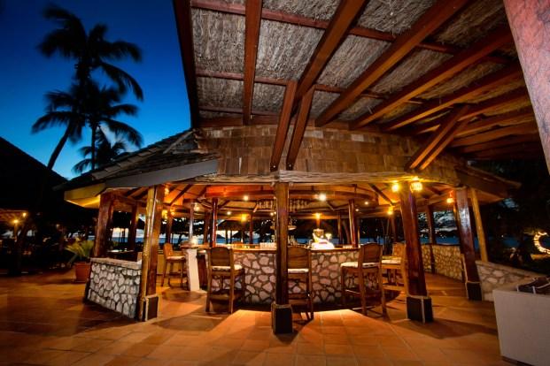 Sunset Grill beachfront bar