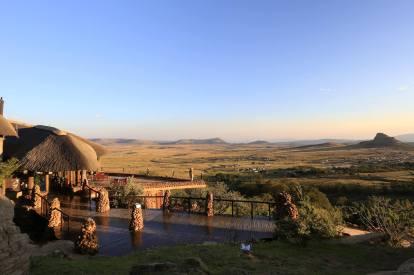 Isandlwana Lodge landscape