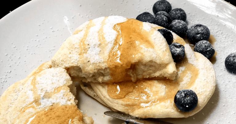 Fluffy Souffle' Japanese CBD Pancakes