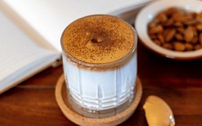 CBD Dalgona Whipped Coffee Recipe