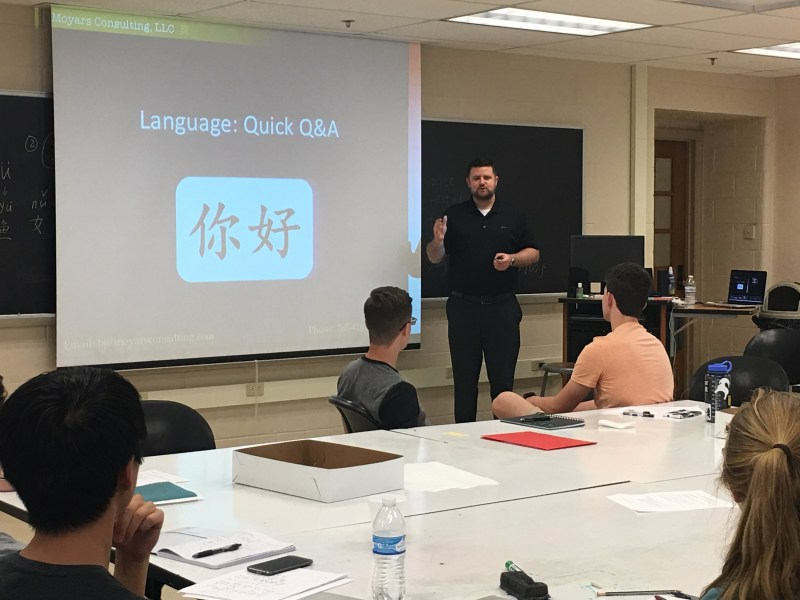 China Culture Training for students participating in Study Abroad to China