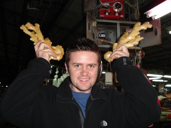 ginger horns