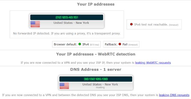 ZenMate VPN Review: méditer sur votre confidentialité Test de fuite de ZenMate Review