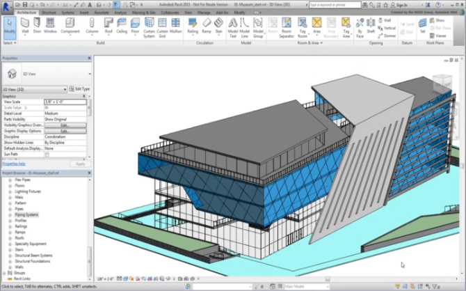 Logiciel d'architecture Autodesk Windows uniquement
