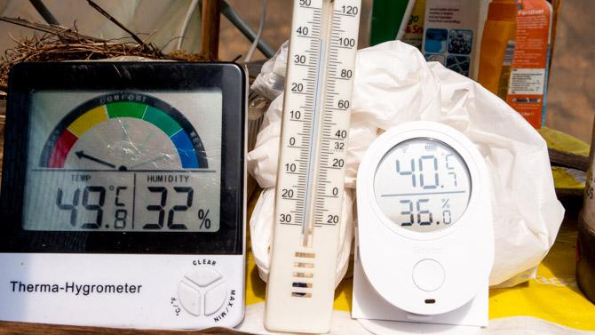 Comparaison du moniteur de température et d'humidité de Govee avec un appareil LCD moins cher et un thermomètre à mercure